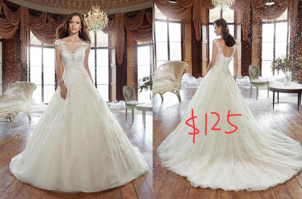 Vnaix W2002 a line wedding dress
