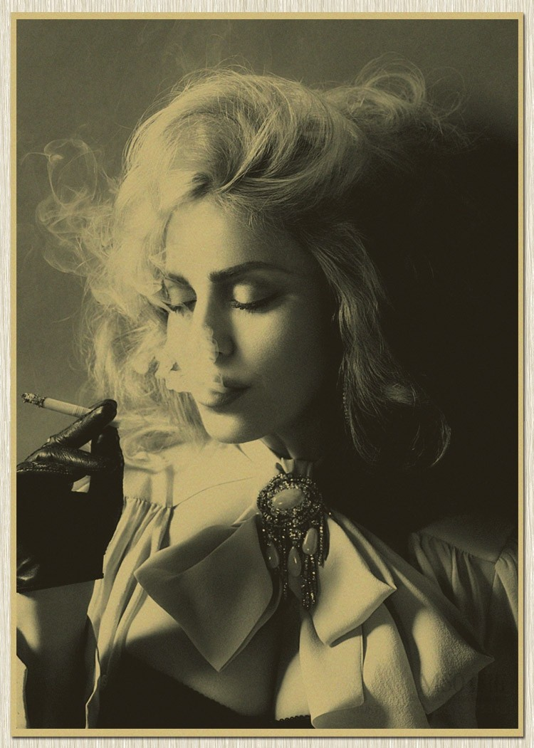 Sexy Madonna Retro Movie old Poster Vintage Wall Stickers Cool Home Art Decoration