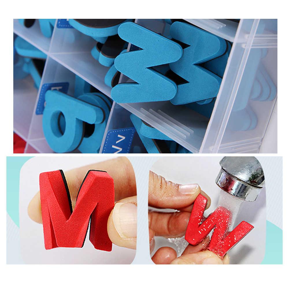Цифры буквы фигурка символический паззл магнитная наклейка с плинтусом Дошкольный учебный комплект Детские развивающие игрушки