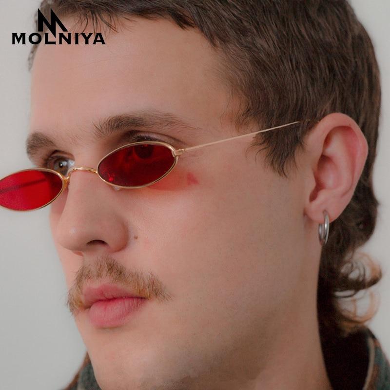 Sončna očala MOLNIYA Red Cat Eye Ženska 2018 Majhna velikost - Oblačilni dodatki
