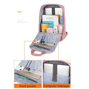 Image 5 - Студенческие рюкзаки для девушек, водонепроницаемый нейлоновый детский рюкзак для студентов средней школы, дорожные рюкзаки, детские школьные сумки, женские сумки