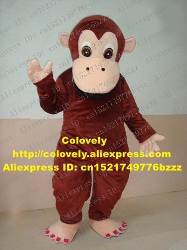 Costumes & Accessories Naughty White Monkey Orangutan Gorilla Pongo Chimpanzee Ape Hominoidea Mascot Costume With Plush Long Fur Round Ears No.6534 Fs Cheap Sales