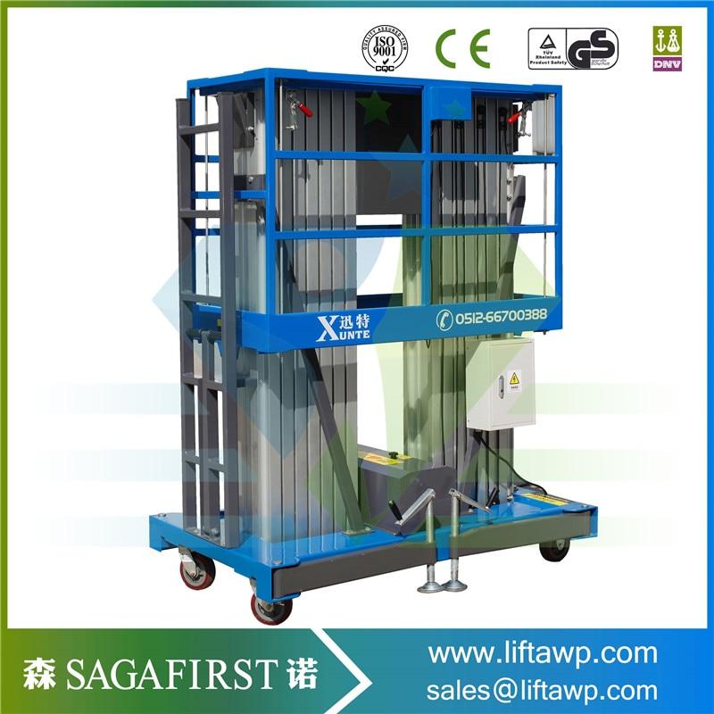 Aluminum Alloy Working Myanmar: China Manufacturer 250kg Vertical Hydraulic Platform