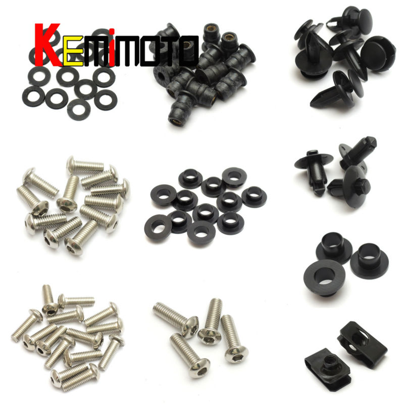 For Honda 2000-2006 RC51 Motorcycle Fairing Bolt Screw Fastener Nut Washer for Honda RC51 2000 2001 2002 2003 2004 2005 2006 (3)