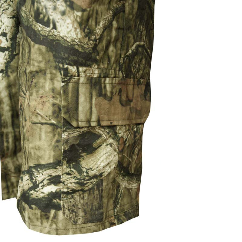 Summer Army Fan Loose Bionic Camouflage Shorts Men's Hunting Shorts Cotton Thin Breathable Casual Fishing Hiking Camping Shorts 4
