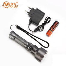 YAGE LED Flashlight CREE XP-E LED tactical torch hunting light rechargeable flashlight police flashlight 18650 flashlight lampe