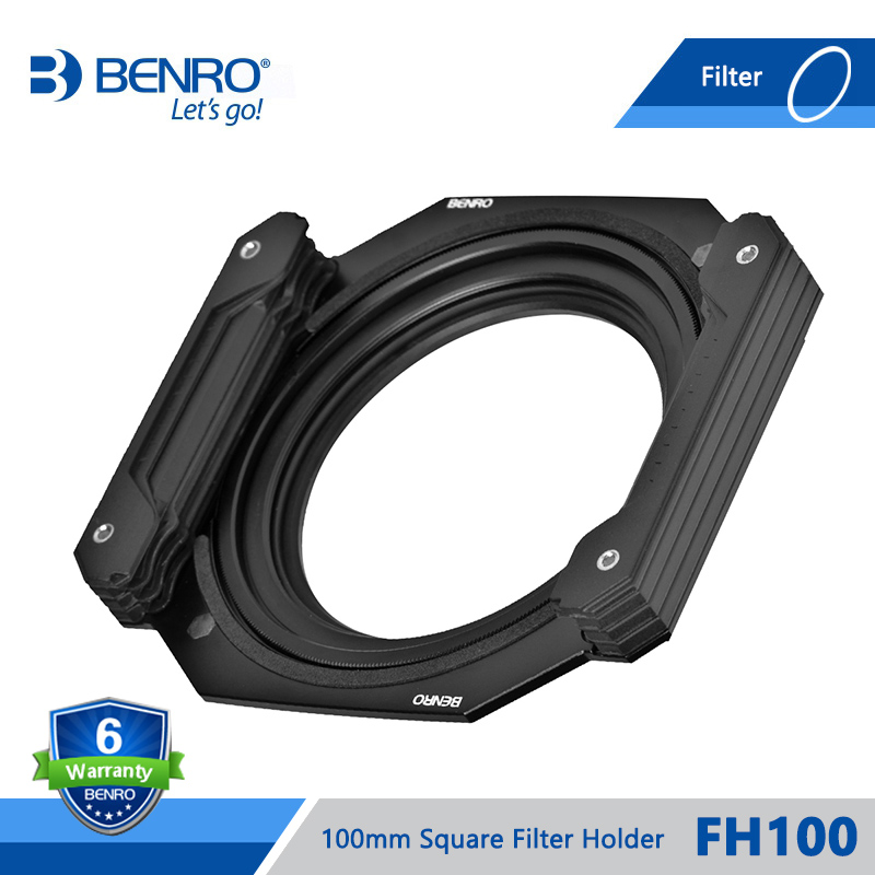 Benro FH100 FH-100 100mm Square Filter System ND/GND/CPL Filter Hold Support Install 3 Square Filter 1 Circular Filter DHL benro 58mm cpl filter shd cpl hd ulca