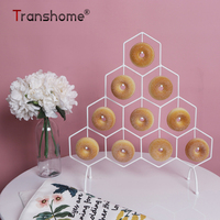 Transhome Dessert Display Stand Cake/Donut Stand Wedding Birthday Party decoration Donuts Decoration Racks Doughnuts Stands 2019