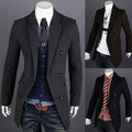 2015 New fashion Mens Trench Coat Korean Style Long Trench Coat Suit Collar Sobretudo Masculino Covered Button men jackets