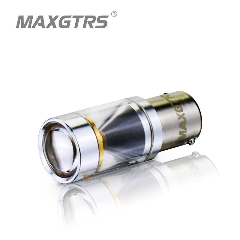 2x S25 1156 BA15S P21w 30W CREE Chip LED 360 Degree Shine Driving font b Lamp