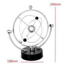 1Piece Kinetic Art Mobile Milky Way Gizmos Perpetual Motion Spherical Pendulum Revolving Desk