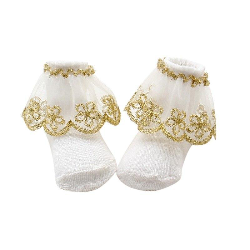 1 paar schattige peuters zuigelingen katoenen enkel boog sokken baby - Babykleding