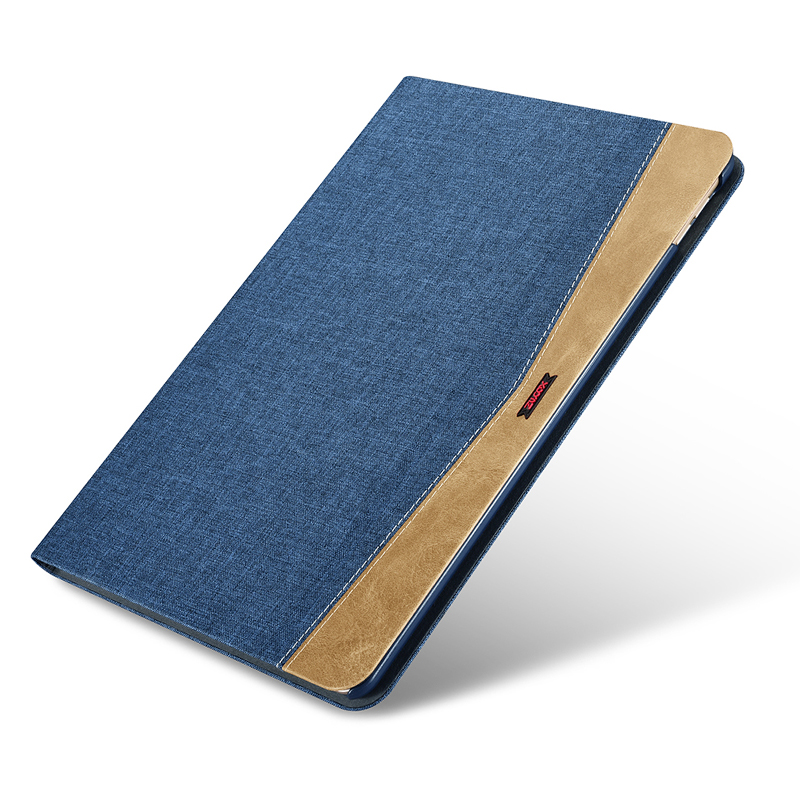 Durable Fabric Denim Leather Case For iPad Pro 10.5 Case Ultra Thin Flip Wake Sleep Smart Cover For iPad Pro 10.5 inch Cases Bag leather case flip cover for letv leeco le 2 le 2 pro black