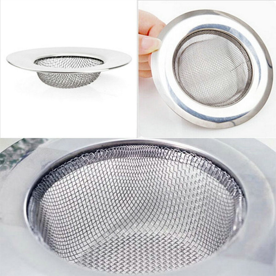 1pcs Stainless Steel Kitchen Appliances Sewer Filter