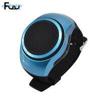 Fuu Часы Bluetooth Динамик мини Портативный Спорт Бег Ремешок Универсальный Открытый Портативный небольшой стерео Bluetooth оптовая продажа