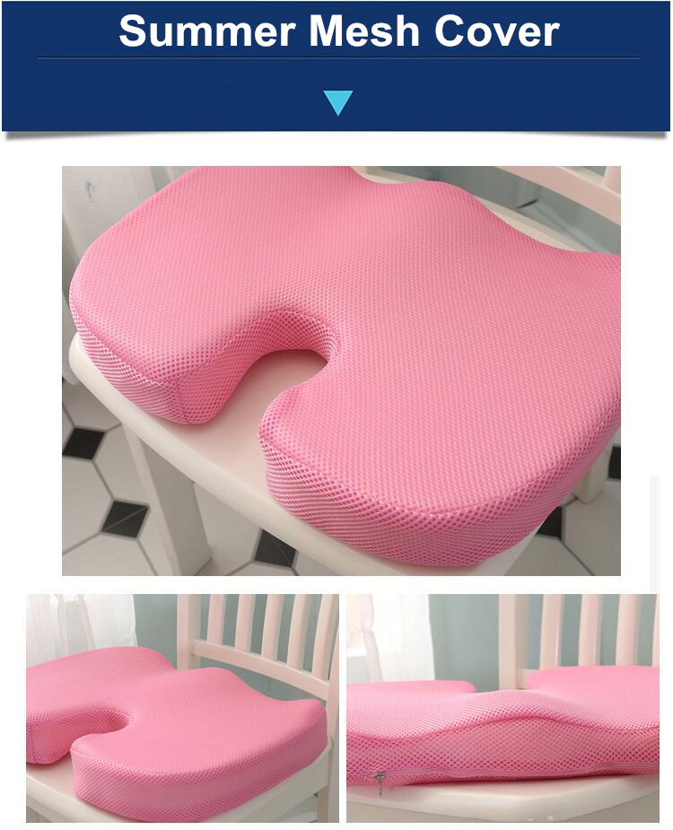 HTB1r8z8V6TpK1RjSZKPq6y3UpXaj PurenLatex 45*35*7 Hot Sale Slow Rebound Bamboo Charcoal Memory Foam Chair Car Seat Hips Pillow Tailbone Coccyx Protect Cushion