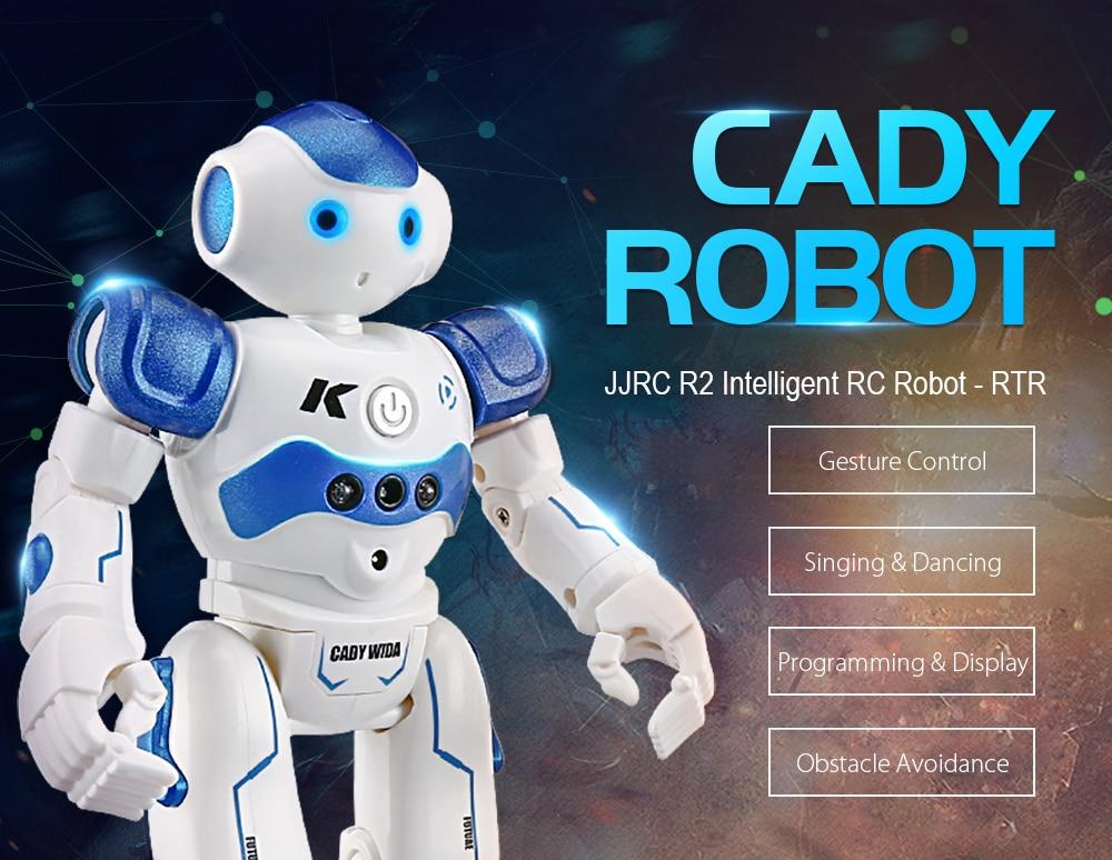 JJRC R2 RC Robots IR Gesture Control Robot RC Robot Toys (1)
