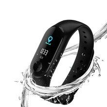 Waterproof Sports Smart Health Bracelet Sleep Fitness Activity Tracker Heart Rate Monitor Wristband Color LCD Screen Watch