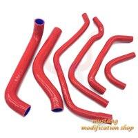 car silicone hose Radiator Fit High quality FOR Alfa Romeo 156 2.0 Black blue red
