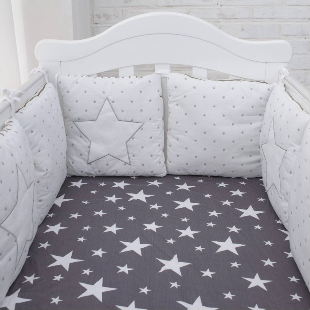 2018 High Quality Flexible Combination Star Bed Bumper Comfortable Protect the Baby Easy ...