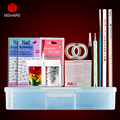 Mshare Gel Polish Nail Art Basic Manicure Tool Kits Set Nail Files Brush Nail Cuticle Nipper Pusher Tools
