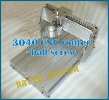 Nave libre de DE y Tax Free 3040 fresadora CNC enrutador kit mecánico CNC Marco de aleación de aluminio tornillo de la bola