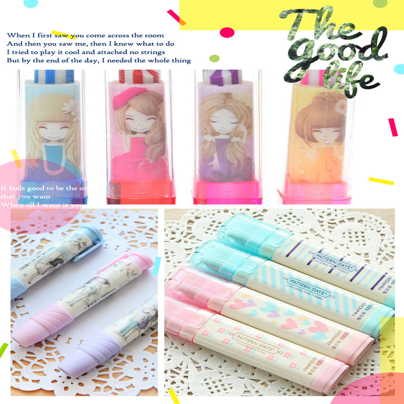 Limit Shows Available Cute Automatic Oversized  Eraser School Supplies Prizes Promotional Gift Stationery Gift For Kid Hot