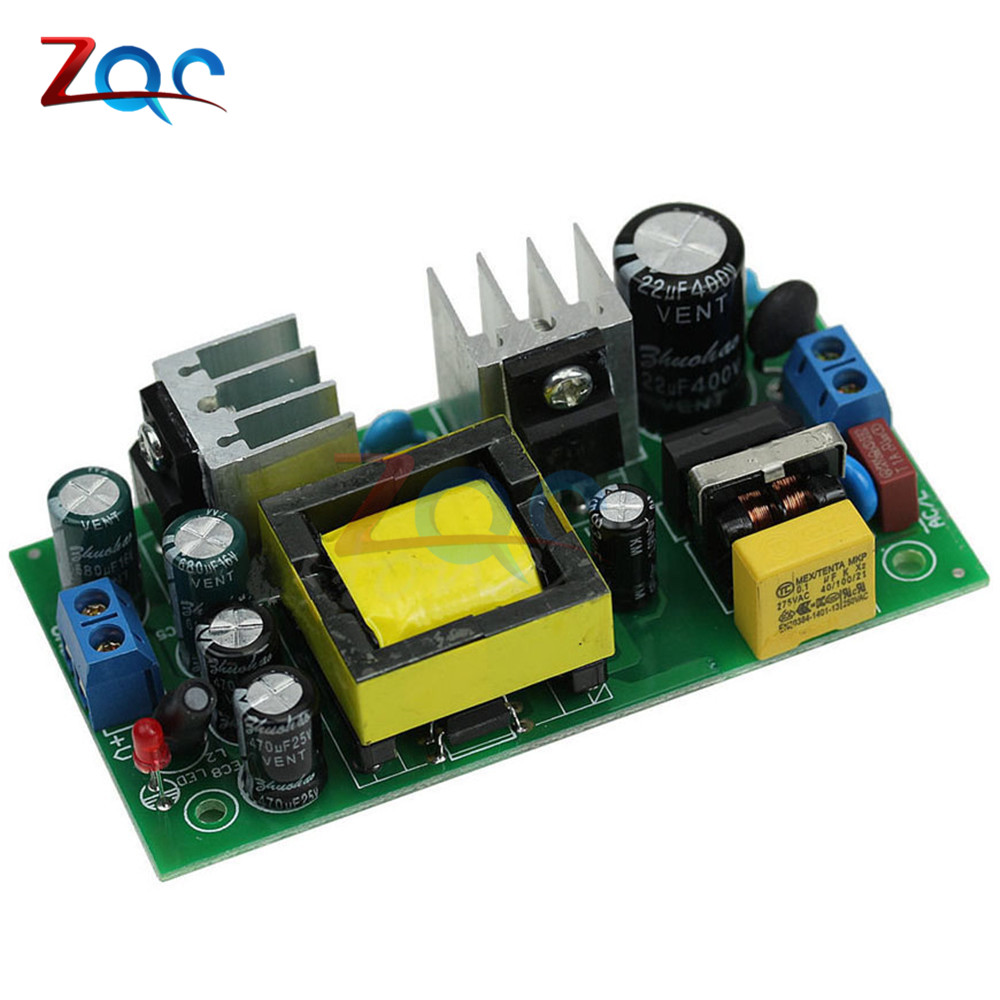 2000mA AC-DC 12V 2A Switch Power Supply Module Dual Output AC110V/220V DC12V Isolated Power Buck Converter Switch For Arduino new ultra small size dc dc step down power supply module 3a output 12v 5v to 3 3 v buck converter for arduino