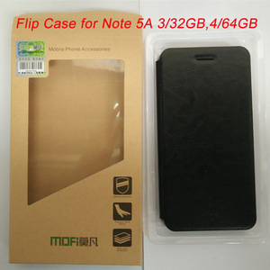 Image 3 - Original Xiaomi Flip Case for Note 5A Mi 5C Xiaomi 5S Plus Mi 6 High Quality