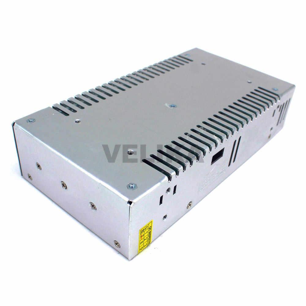 Один Outpu 60 V DC Мощность поставить 10A 600 W преобразователь драйвера AC110V 220 V постоянного тока до DC60V Мощность поставки импульсивный источник питания для CNC CCTV 3D-принтеры