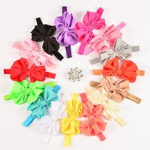 5PCS/Lot Baby Headband Bow Gir