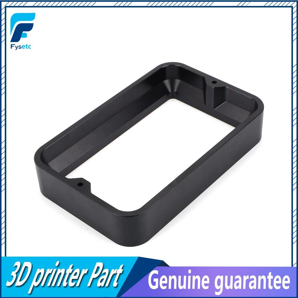 Matériel Rack Noir 104*164*30mm Pour DLP SLA 3D Imprimante Anodisé En Aluminium Résine Tva Anneau En Acier installé En Métal Photon FEP Film
