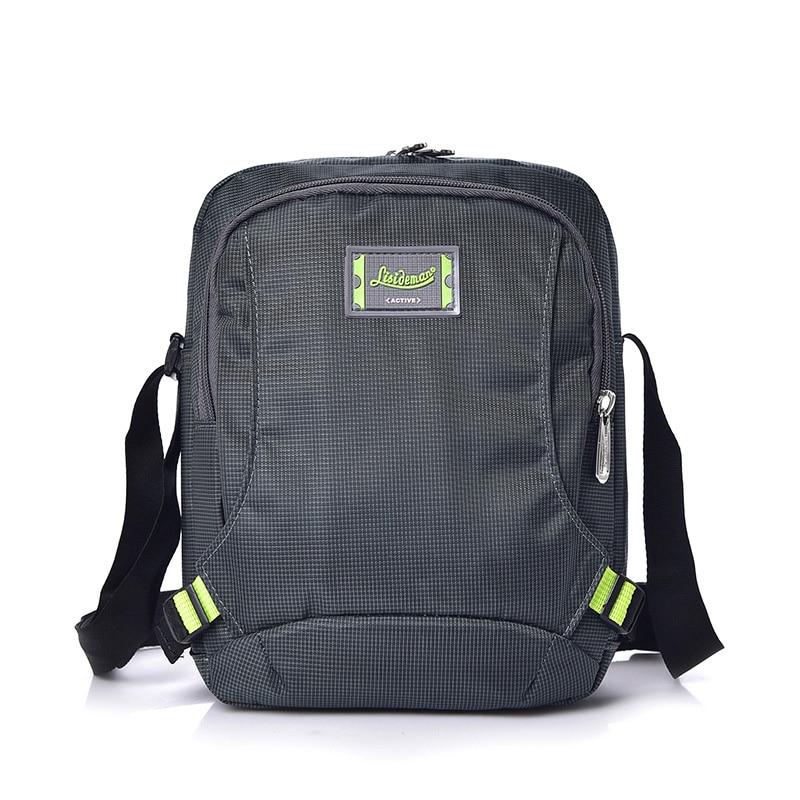 Messenger-Bags Street-Side-Bags Weekend Mens Satchel Small Black Waterproof Nylon Casual