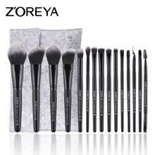 ZOREYA Make Up Brush Set супер мягкий кисти для макияжа пудра и глаз кисти как Косметика Инструмент
