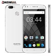 Оригинальный Oukitel U22 5.5 «HD 4 ядра смартфон MTK6580A 2 ГБ + 16 ГБ Android 7.0 четырьмя камерами 13MP отпечатков пальцев 3 г мобильного телефона