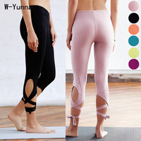 Quality Solid Candy Color Legging Pants Fitness High Waist Thick 7 8 Length Dancing Jeggings Workout