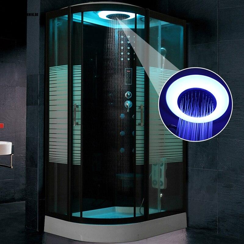 80X120CM Bath Hydro Shower ROOM Black NO Steam cabin douche cabine ...