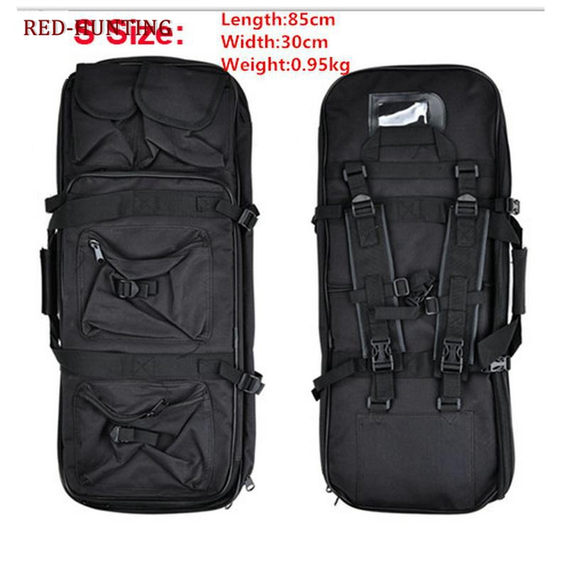 85cm Gun Bag Case Rifle Backpack Military Hunting Dual Rifle Bag Case Square Carry Bags Outdoor Gun Accessories Long Performance Life