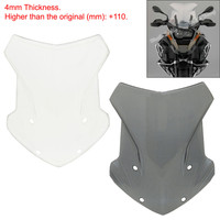 waase R1200 GS ADV Motorcycle Windscreen Windshield Shield Screen For BMW R1200GS LC / Adventure 2014 2015 2016 2017 2018 2019