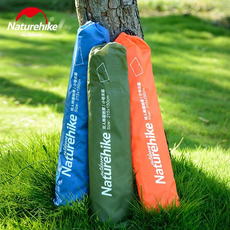 font b Naturehike b font 3 4 Person Camping Mat 210x215cm Outdoor Sun Shelter Cloth