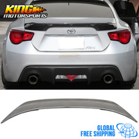 For 13 17 Scion FRS Subaru BRZ GT86 TR D Rear Trunk Spoiler Carbon Fiber Global Free Shipping Worldwide