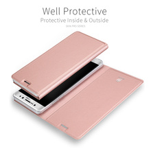 Dux Ducis Case for Samsung Galaxy S8 Case Leather Silicone Luxury Wallet Cover for Samsung S8 Card Slot Stand Holder Flip Shell