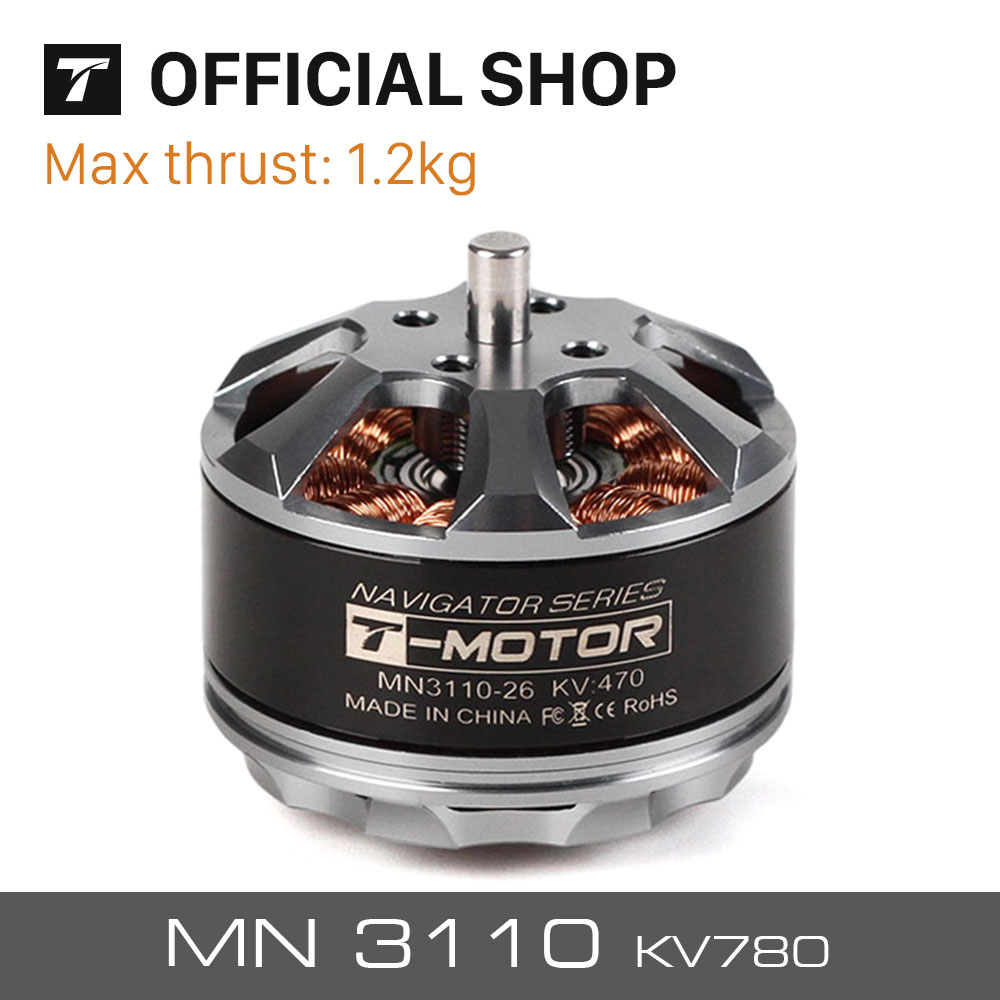 T MOTOR RC MODEL part MN3110 KV780 Tiger brushless motor for multi rotor copter Quadcopter radio