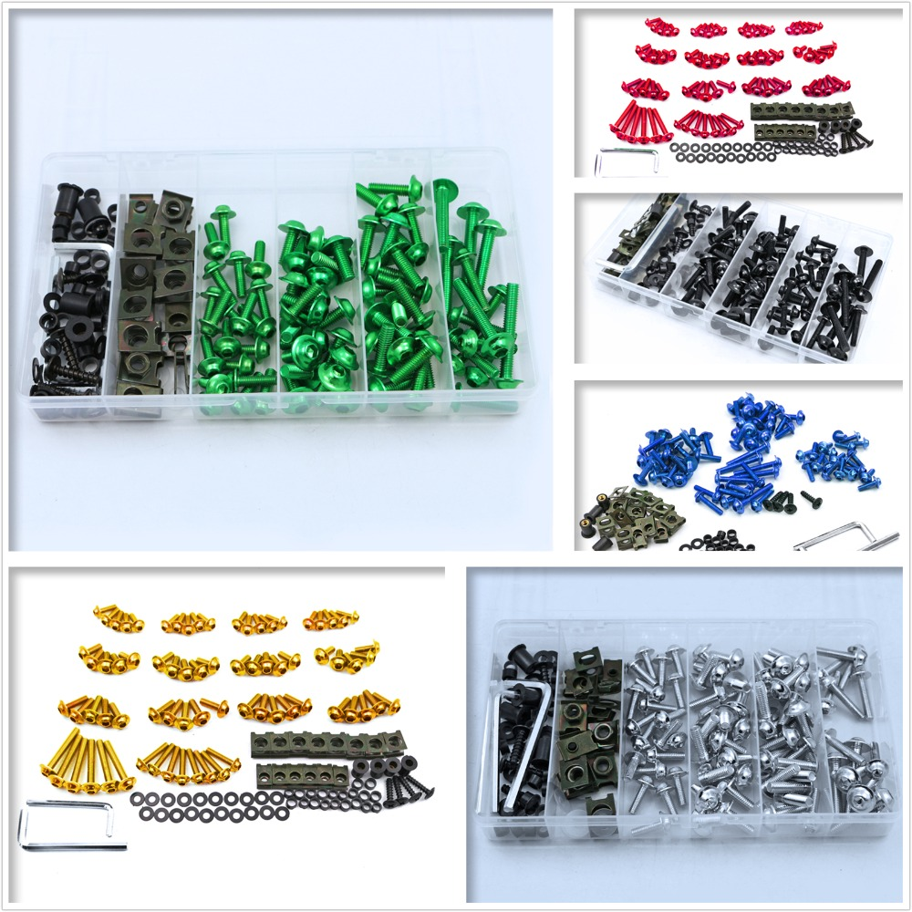 Complete Fairing Bolt Screws Kit Fit For DUCATI 400 696 748 749 796 821 848 899 1098 1200 1199 1299