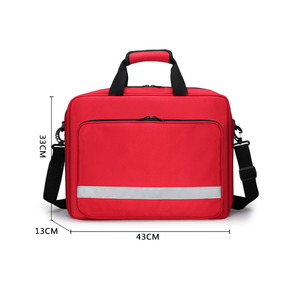 Image 2 - Empty First Aid Bag Nurse/Physician Medical First Responder Trauma Bag Emergency Kit for Home Factory Hospital