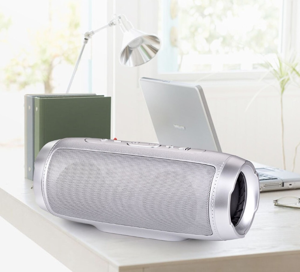 Hot selling new wireless Bluetooth Dual speaker Mini Portable subwoofer TF card Car Handsfree Receive Call Music Suction Mic