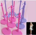 2015 New arrival Free shipping, 10pcs/lot 2 colors mixed Doll Stand Display Holder For Dolls/Monster Hight dolls