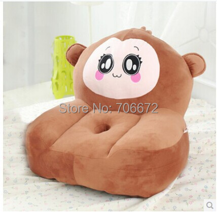 about 54x45cm cartoon monkey plush toy zipper closure tatami soft sofa floor seat cushion ,brown colour ,birthday gift t8954 about 54x45cm cartoon monkey plush toy zipper closure tatami soft sofa floor seat cushion brown colour birthday gift t8954