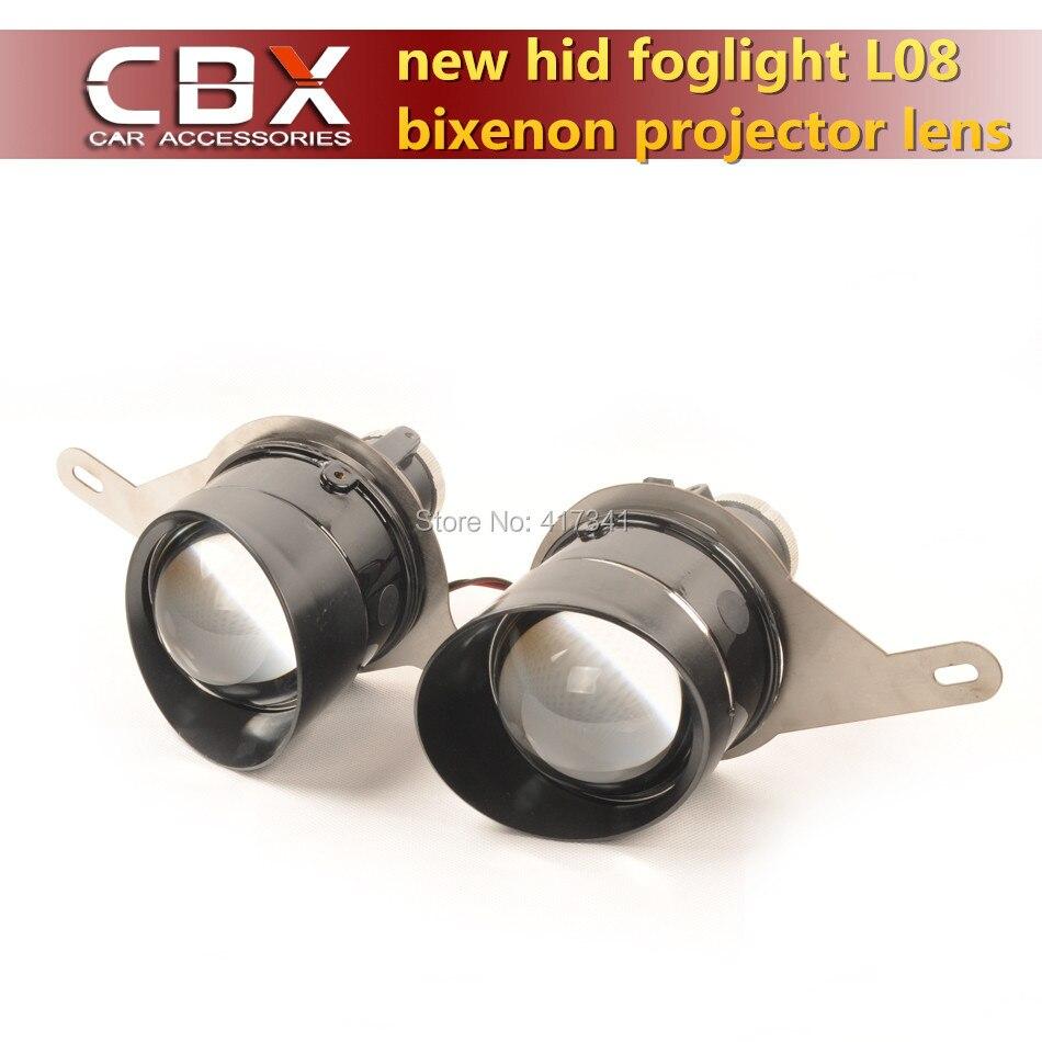Nouvelle génération de Bixenon projecteur lentille brouillard lampe Super lumineux L08 avec HID ampoule D2H étanche spécial pour Trumpchi GS4
