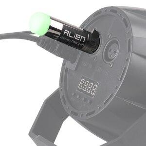 Image 5 - ALIEN DMX 512 Dfi DJ דיסקו 2.4 Ghz משדר אלחוטי מקלט 400 M בקר למסיבה מוסיקה מועדון DMX LED שלב לייזר אורות